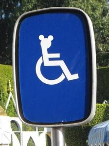 Disney Wheel Chair Post
