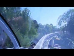 Monorail Front Cab View