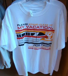Please Stand Clea of My Vacation T-Shirt