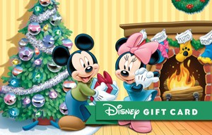 Disney A Christmas Wish Gift Card