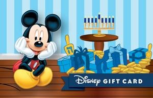 Disney Happy Hanukkah from Mickey Gift Card