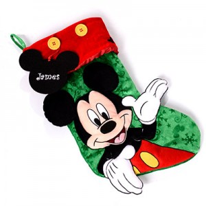 Mickey Mouse Christmas Stocking Create A Gift