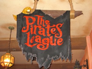 Pirates League Sign