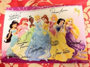 Princess Autographs