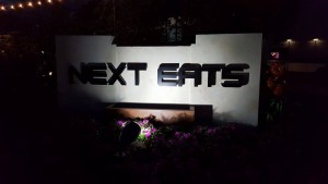 F&W2015 Next Eats Sign