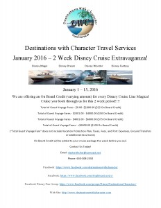 DWC DCL January 2016 Promotion