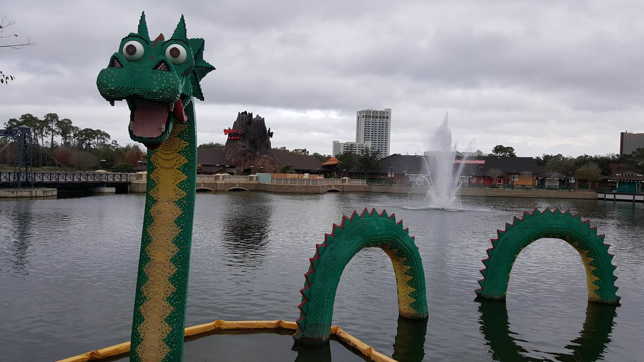 Disney Springs - Sea Monster