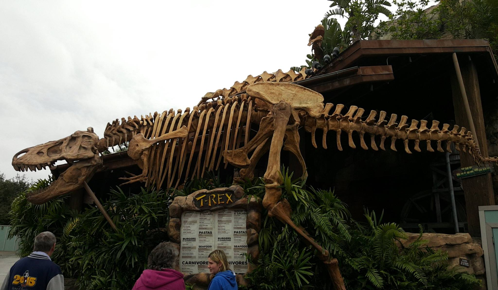 Disney Springs - T-Rex Entrance 1
