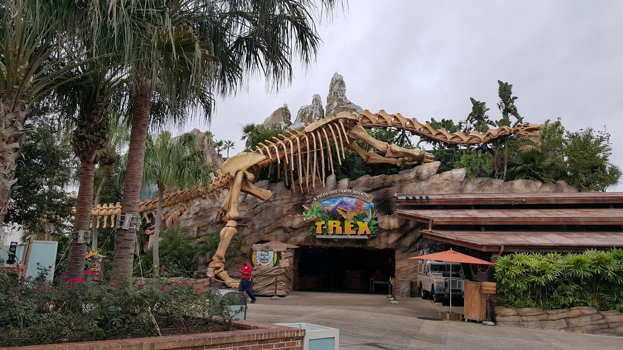 Disney Springs - T-Rex Entrance 2
