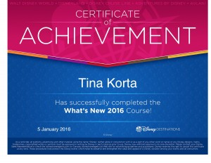 Disney Whats New 2016 - Tina Korta