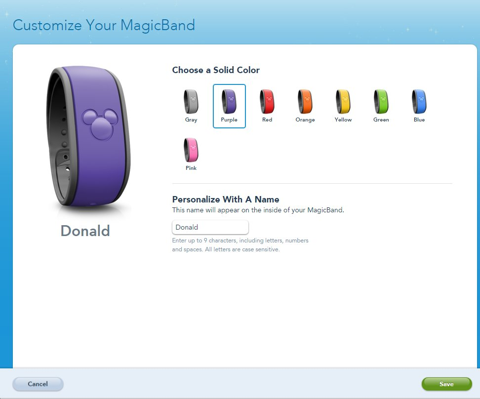 Purple Magic Band