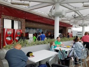 Disney Springs Coke Store Eating Area 01