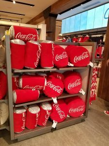 Disney Springs Coke Store Inside 06