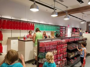 Disney Springs Coke Store Inside 07