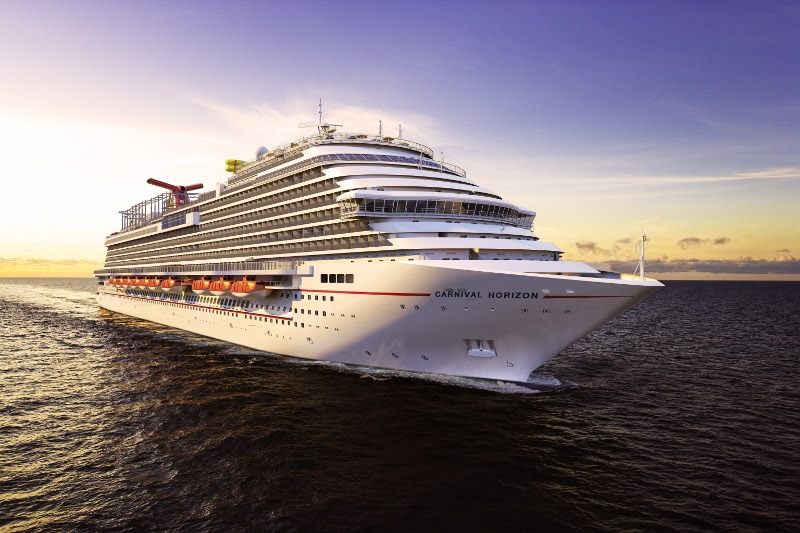 News From Carnival Cruise Lines – Carnival Horizon Nearing Completion!