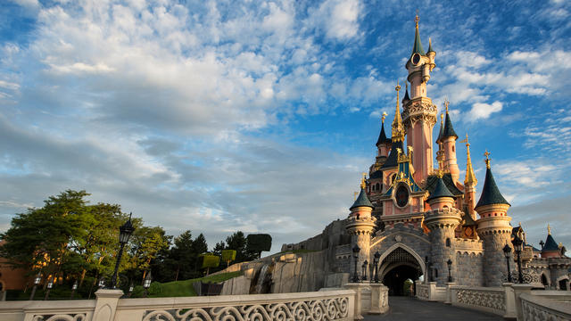 Disneyland Paris Sleeping Beauty Castle Front View