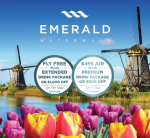 Emerald Waterways – FREE AIR & EXTENDED Drink Package on Select Cruises!